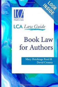Book Law for Authors cover